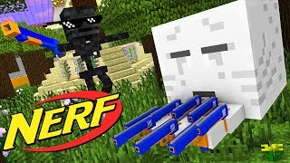 Download Monster School : NERF WAR CHALLENGE - Minecraft Animation Video