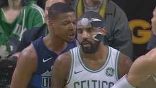 Download Kyrie Irving, Dennis Smith Jr Double Technical Fouls! Mavs vs Celtics 2017-18 Season Video