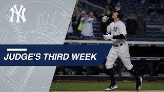 Download Aaron Judge's third week of the 2018 season Video