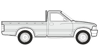 Download How to Draw a Toyota Hilux Pick Up / Как нарисовать Toyota Hilux Pick Up Video
