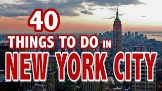 Download 40 BEST THINGS TO DO IN NEW YORK CITY ♥ New York City Travel Guide Video