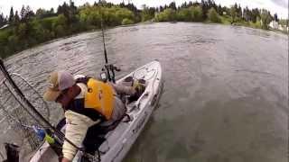 Download Kayak Fisherman hit by Boat Video