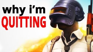 Download Why I'm Quitting PUBG After 1,000 Hours (Strong Language) Video