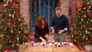 Download Turn Your Leftover Wrapping Paper Into Holiday Ornaments Video