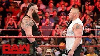 Download Braun Strowman attacks Universal Champion Brock Lesnar: Raw, Aug. 21, 2017 Video