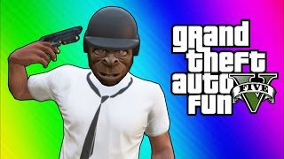 Download GTA 5 Online Funny Moments - Bullet Proof Helmet, Trolling Ohm, ATV Fun! Video