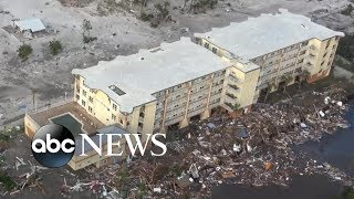 Download Hurricane Michael leaves destruction, thousands without power in its wake Video