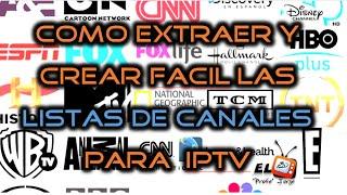 Download 📺 Como crear y extraer las listas de canales .m3u para IPTV TV SATELITAL + 1000 canales 2016 - 2017 Video