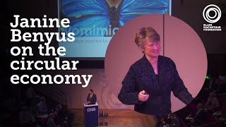 Download Janine Benyus at the Circular Economy 100 Annual Summit Video