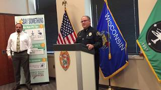 Download Janesville Police Chief Moore on Sunday homicide in Janesville Video