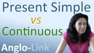 Download Present Simple vs Present Continuous - Learn English Tenses (Lesson 1) Video