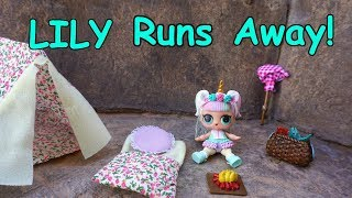 Download LOL SURPRISE DOLL Lilly Runs Away! Video