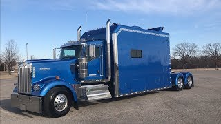 Download 2016 Kenworth W900 ICT 180″ Custom Sleeper Video