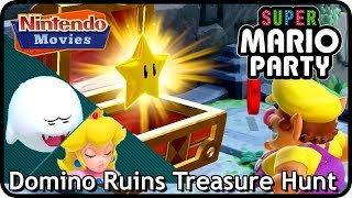 Download Super Mario Party: Partner Party - Domino Ruins Treasure Hunt (2 players, Master, 20 turns) Video