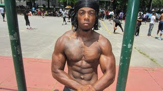 Download Sincere Semion does 50 pull-ups and 100 push-ups in under 5 minutes Video