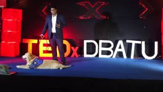 Download How to treat diseases- use animals | Aakash Lonkar | TEDxDBATU Video