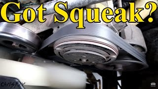 Download How to Fix a Squeaky Belt (figure out where the squeak is coming from) Video