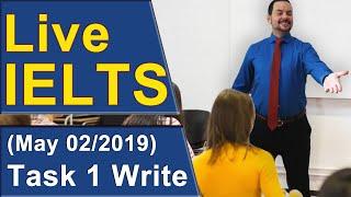 Download IELTS Live - Task 1 - Band 9 Line Graph Video