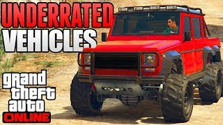 Download GTA 5 ONLINE - TOP 5 MOST UNDERRATED & FORGOTTEN CARS IN GTA 5 ONLINE! (GTA 5 Rare Cars) Video