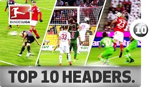 Download Top 10 Headed Goals of 2016/17 So Far... - Aubameyang, Chicharito and Co. Video