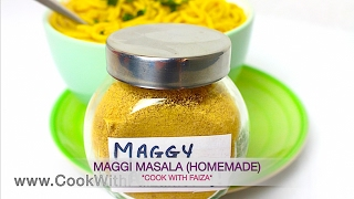 Download MAGGI MASALA (Powder) - میگی مسالا - मैगी मसाला *COOK WITH FAIZA* Video