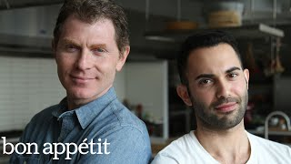 Download Bobby Flay vs. Andy: Battle of the Onion Rings | Bon Appétit Video