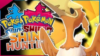 Download LIVE SHINY CRAMORANT HUNTING! Pokemon Sword & Shield Shiny Hunting! Video