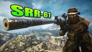 Download Battlefield 4 - Sniper Sunday SRR-61 Intervention Best Sniper Rifle? Video