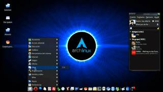 Download Arch - Linux - Xfce4 + AWN + Cairo-compmgr Video