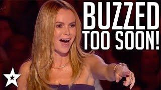 Download When Judges BUZZ Too Soon! | Britain's Got Talent | Got Talent Global Video