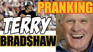 Download Pranking TERRY BRADSHAW - NFL LEGEND - Tom Mabe Video