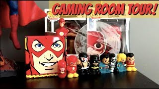 Download HoneyBee's Gaming Room Tour! EVO Stick, Injustice Poster, Medals & More! Video