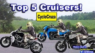 Download Top 5 Cruiser Motorcycles (Fastest Cruisers) | MotoVlog Video