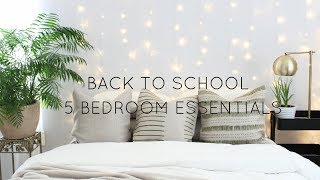 Download BACK TO SCHOOL |5 BEDROOM ESSENTIALS Video