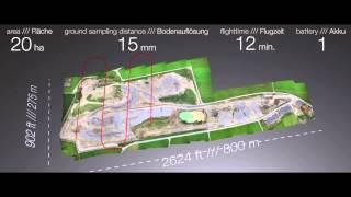 Download UAV / Drone demo flight /// AscTec Falcon 8 @ INTERGEO 2014 Video