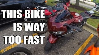 Download First Ride on a 2008 Honda CBR1000RR - TOO DAMN FAST Video