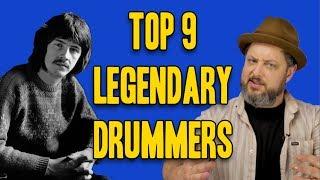Download Top 9 Legendary Drummers Video