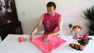 Download How to fold a flower out of towel - Handdoekenvouwen Bloem Video