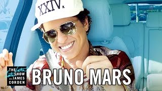 Download Bruno Mars Carpool Karaoke Video