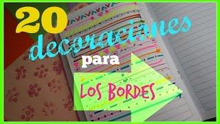 Download 20 Decoraciones para tu cuaderno// Craftlove Video