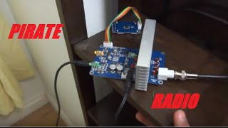 Download Simple and Small Pirate Radio Station Video