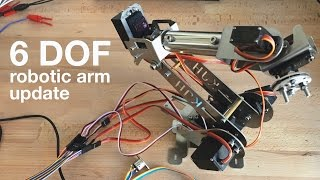 Download Arduino / Teensy 6 DOF / Axis Robotic Arm Inverse Kinematics - Update Video