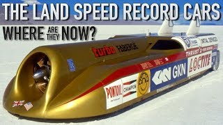 Download The Land Speed Record Cars - where are they now? Video