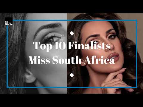 Miss South Africa Top 10 Finalists