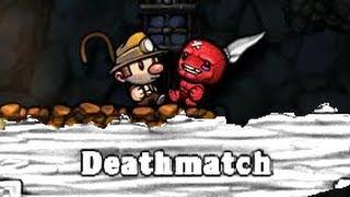 Download Knife Fight - [Spelunky PC Deathmatch 5] Video