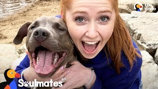 Download Sick Girl Meets Dog Who Completely Changes Her Life | The Dodo Soulmates Video