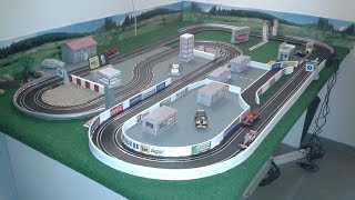 Download How to Build a Carrera Slot Car Track / Do It Yourself Scenery / DIY Model Building 2016 Video