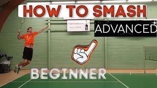 Download Badminton: HOW TO SMASH - FROM BEGINNER TO ADVANCED, step by step Video