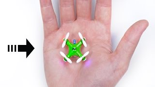 Download The World's Smallest Drone! Video