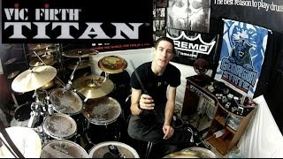 Download Vic Firth TITAN - Carbon Fiber Drumsticks - Final Review Video